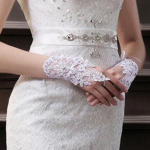 New Bridal Gloves Cuffs Jeweled.
